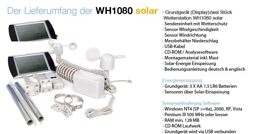 wetterstation solar