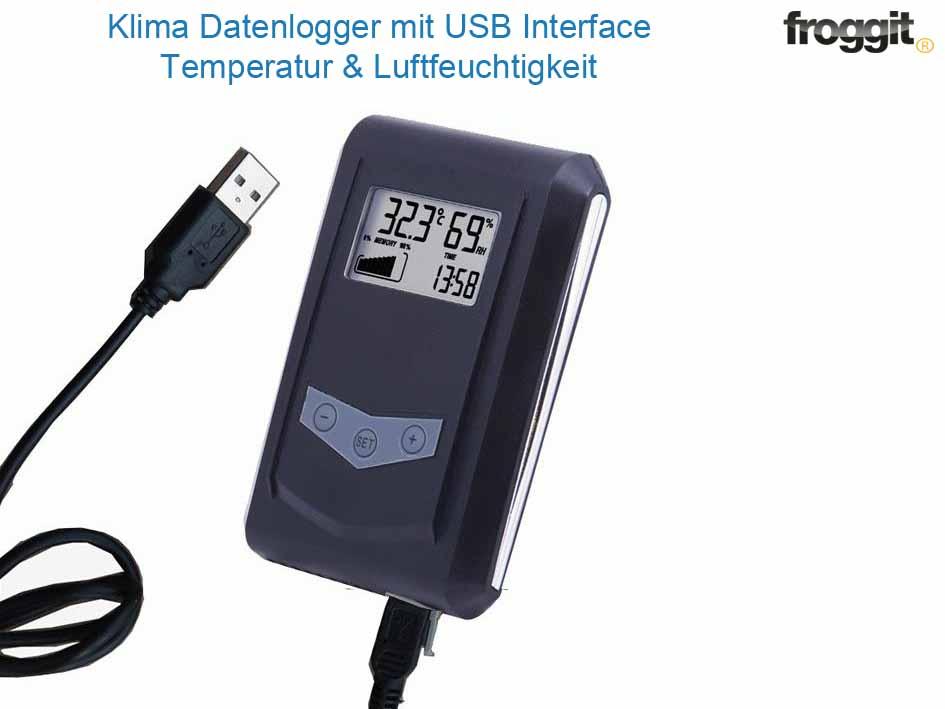 Usb Datenlogger Temperatur Luftfeuchtigkeit Ebay